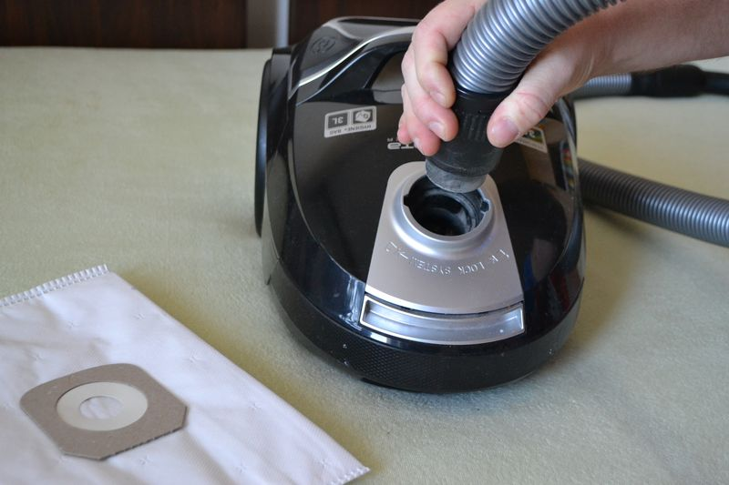 Fotka článku Jak vyměnit sáček ve vysavači
